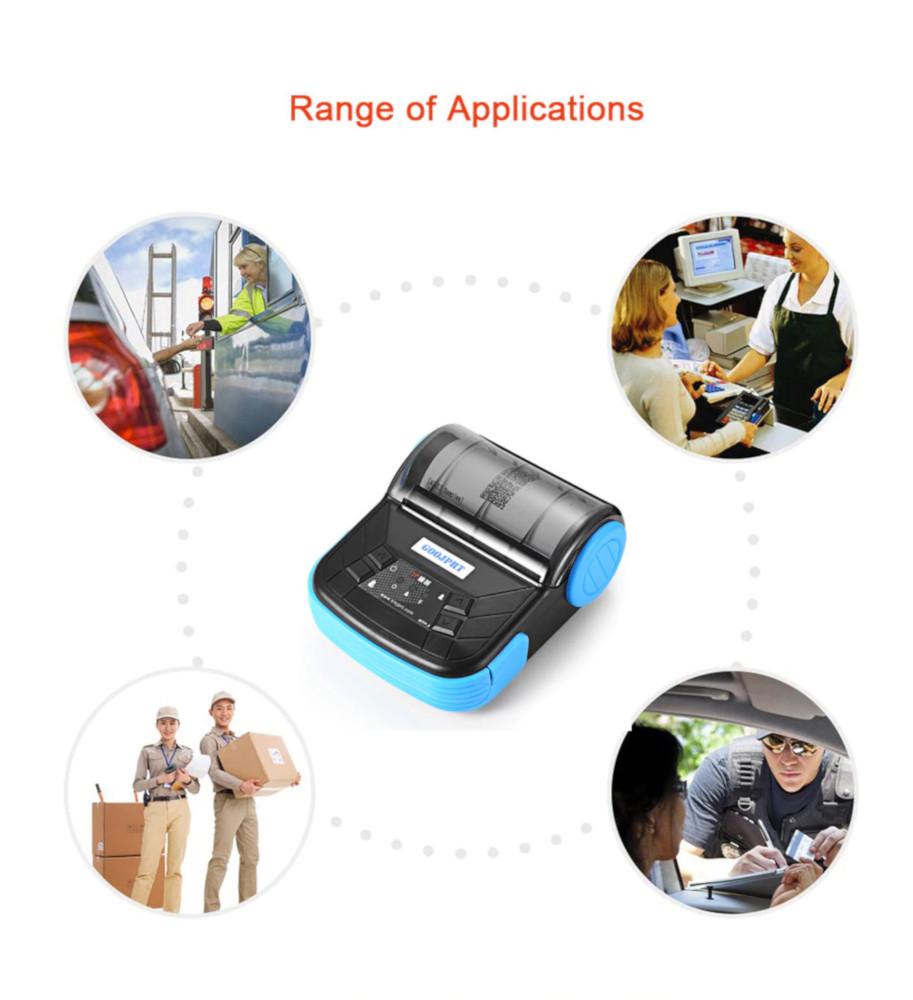 Imprimanta termica MTP-3 GOOJPRT folosire