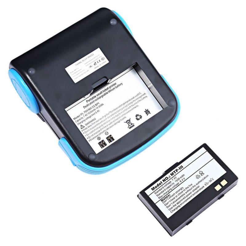 Imprimanta termica MTP-3 GOOJPRT acumulator