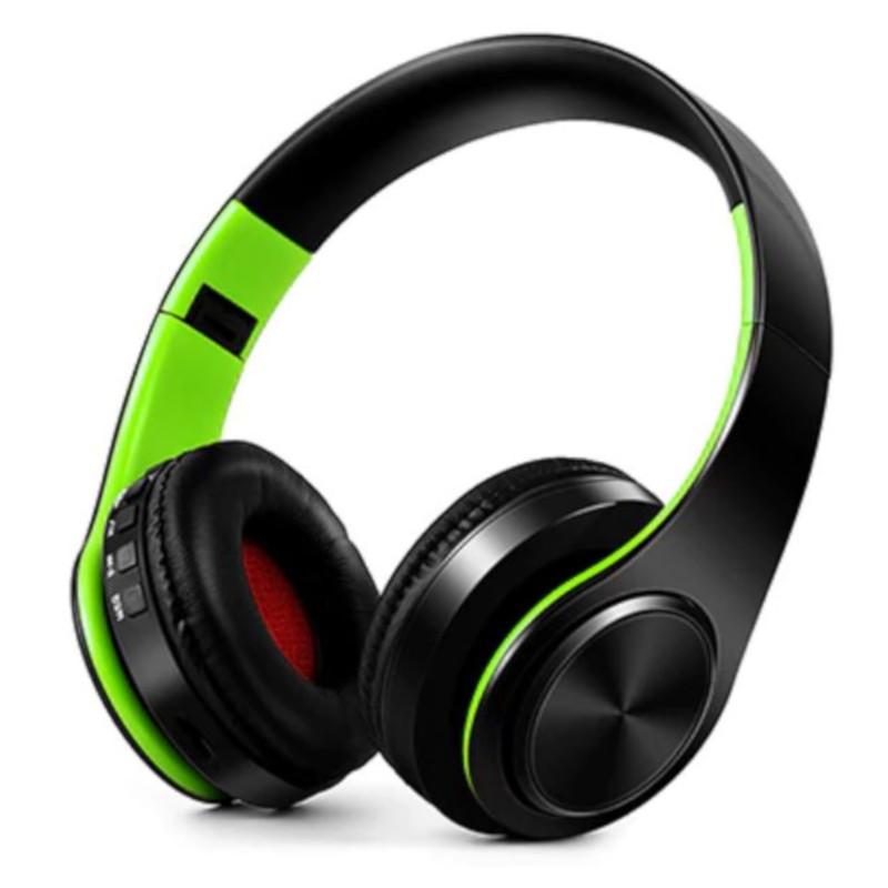 Casti Bluetooth NBY LP660 Negru-Verde