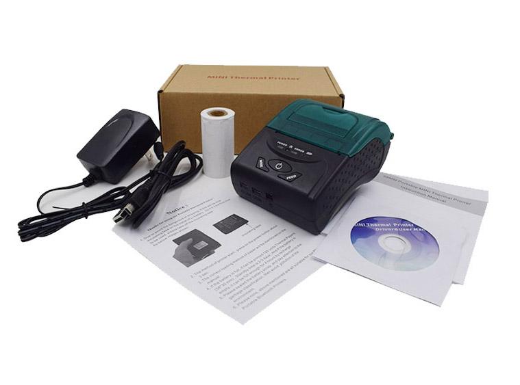Imprimanta termica ZJ 5807 Continut colet 1