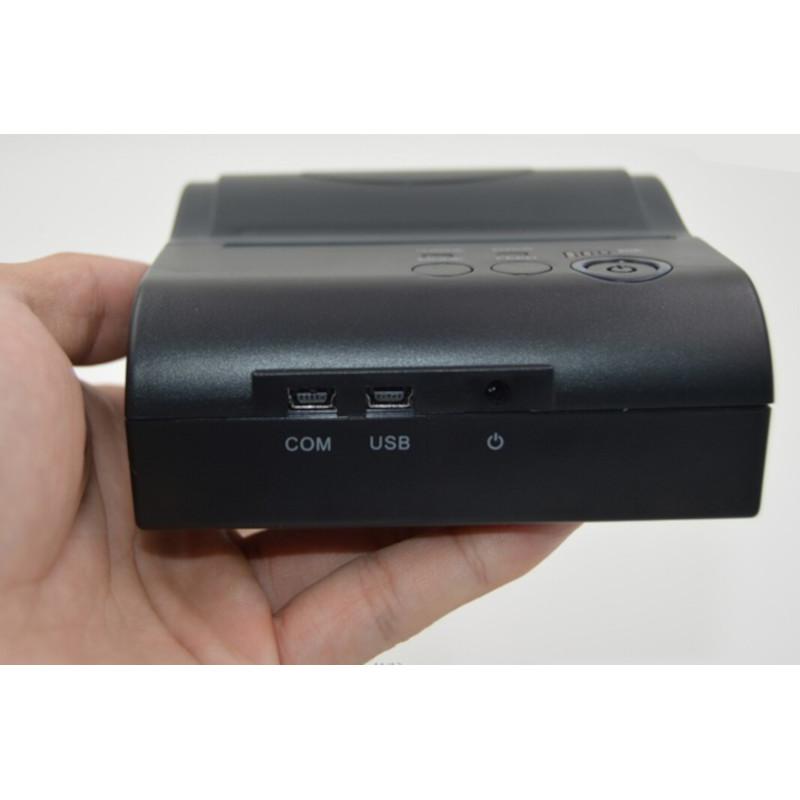 Imprimanta termica ZJ 8001 din fata